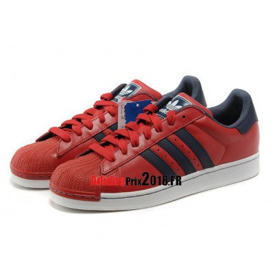 Basket adidas superstar rouge homme site fiable 124