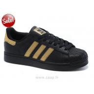 Achat adidas superstar noir or femme site fiable 3703